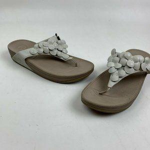 FitFlop Thong Sandals 10 Slip On Flip Flop…